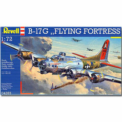 REVELL B-17G Flying Fortress 1:72 Aircraft Model Kit - 04283