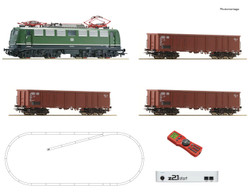 Roco DB BR140 Electric Freight Starter Set IV (DCC-Fitted) RC51330 HO Gauge