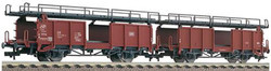 Fleischmann DB Laaes541 Double Deck Car Carrying Wagon Set (2) IV HO Gauge
