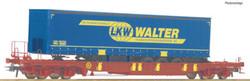 Roco AAE T3 Sdgmns743 Pocket Wagon LKW Walter Trailer VI HO Gauge RC76221