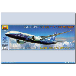 ZVEZDA 7008 Boeing 787 Dreamliner Aircraft Model Kit 1:144