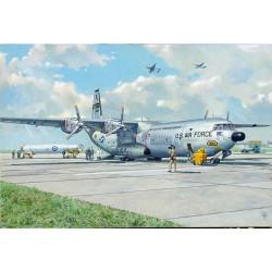 Roden 336 Douglas C-133 w/PGM – 17 Thor IRBM 1:144 Aircraft Model Kit