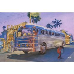 Roden 816 PD-3701 Silverside Bus 1:35 Plastic Model Kit