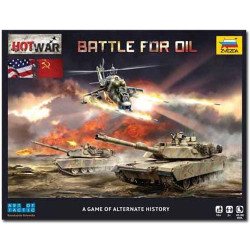 ZVEZDA 7410 Hot War Battle for Oil Game 1:100 1:72