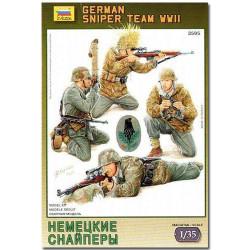 ZVEZDA 3595 German Sniper Team Model Kit Figures 1:35