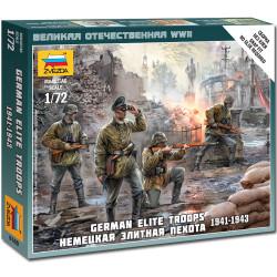 ZVEZDA 6180 German Elite Troops Snap Fit Model Kit