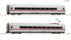 Roco DBAG BR407 Intermediate Coach Set Lit (2) VI (~AC-Fitted) RC78097 HO Gauge