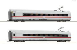 Roco DBAG BR407 Intermediate Coach Set (2) VI RC72096 HO Gauge