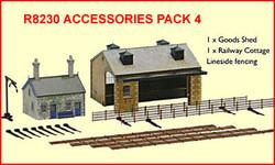HORNBY R8230 Accessories Pack 4 Buildings