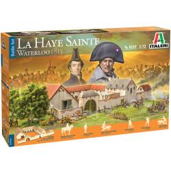 Italeri La Haye Sainte Waterloo 1815 -  Battleset 1:72 Plastic Model Kit