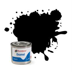 HUMBROL 33 Black Matt Enamel 14ml Model Kit Paint