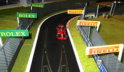 SLOT TRACK SCENICS AB1-RP Advertising Boards Rolex Pirelli - for Scalextric