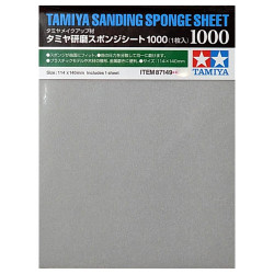 TAMIYA 87149 Sanding Sponge Sheet 1000 - Tools / Accessories