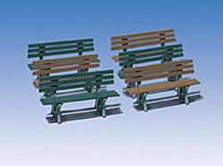 Pola Benches (6) Kit G Gauge PO330979