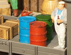 Pola Oil Barrels (2) & Can Kit G Gauge PO333203