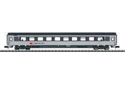 Minitrix SBB Bpm 2nd Class Express Coach (ex-Cisalpino) VI N Gauge 15653