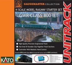 Gaugemaster GWR Class 800 IET Premium Train Set GM2000103 N Scale