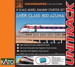 Gaugemaster LNER Class 800 Azuma Premium Train Set GM2000104 N Scale