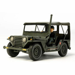 TAMIYA M151 A1 Jeep Vietnam 35334 Military Model Kit 1:35