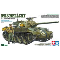 Tamiya 35376 M18 Hellcat Tank 1:35 Plastic Model Tank Kit