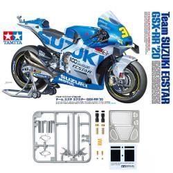 Tamiya 14139 Team Suzuki Ecstar GSX-RR20 1:12 Bike Kit inc. Fork Set 12691