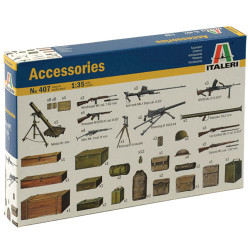 ITALERI Military Accessories 407 1:35 Model Kit