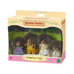Bramble Hedgehog Family - SYLVANIAN Families Figures 4018
