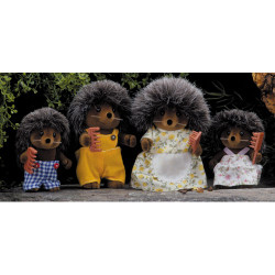 Bramble Hedgehog Family - SYLVANIAN Families Figures 4018