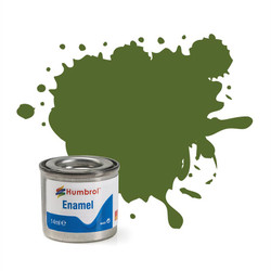 HUMBROL 88 Deck Green Matt Enamel 14ml Model Kit Paint
