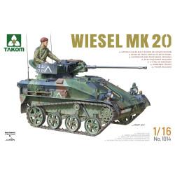Takom TAK01014 Wiesel Mk 20 1:16 Model Tank Kit