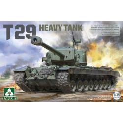 Takom TAK02143 T29 US Heavy Tank 1:35 Model Kit