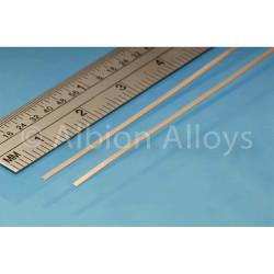Albion Alloys PB1M Phosphor Bronze Strip 1mm x 0.135mm