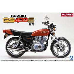Aoshima 05311 Suzuki GS400E 1978 1:12 Plastic Model Motorcycle Kit
