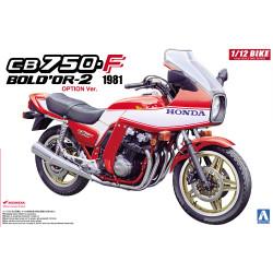Aoshima 05312 Honda CB750F Bold'or-2 1981 1:12 Plastic Model Motorcycle Kit