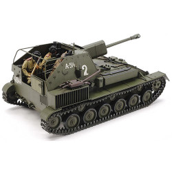 TAMIYA 35348 Russian Self-Propelled Gun SU-76M 1:35 Military Model Kit
