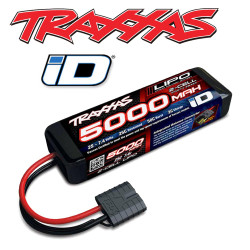 Traxxas 5000mAh 7.4v 2S 25C LiPo iD Power Cell RC Car Battery 2842X