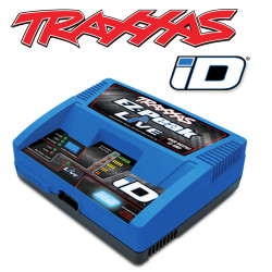 Traxxas EZ-Peak Live 100W 12A NiMH/LiPo iD Bluetooth RC Car Battery Charger 2971