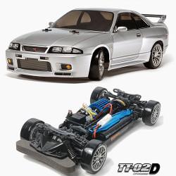 TAMIYA RC 58604 Skyline GTR R33 TT-02D 1:10 Car Assembly Kit