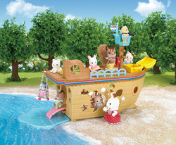 Adventure Treasure Ship - SYLVANIAN Families Figures 5210