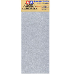 TAMIYA 87024 Finishing Abrasives Fine - Tools / Accessories