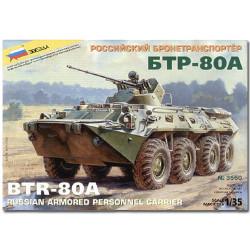 ZVEZDA 3560 BTR-80A Military Model Kit 1:35