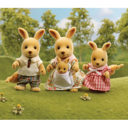 Springer Kangaroo Family Uk - SYLVANIAN Families Figures 4766