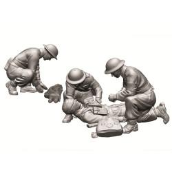 ZVEZDA 6228 British Medic Team 1:72 Figures Model Kit