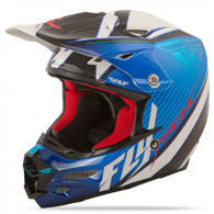 2016 Fly Racing F2 Carbon Fastback Helmet Blue/Black/White