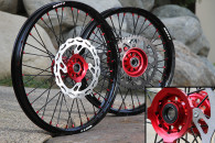 WARP 9 WHEELSET -Honda- Front and Rear Included