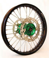 Warp 9 Wheelset -Kawasaki- Includes front and Rear