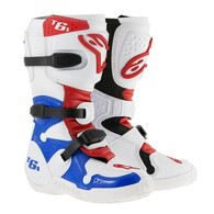 Alpinestars Tech 6S Boot -Red/White/Blue-