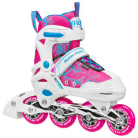 Roller Derby - Ion Girls Size Adjustable Inline Skates