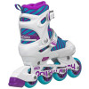Roller Derby - Carver Girls Size Adjustable Inline Skates + Protective Pack 4th view