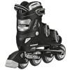 Roller Derby - V-Tech 500 Boys Size Adjustable Inline Skates Black White (Large 6-9) 2nd view
